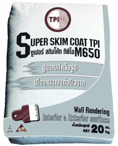 ปูนฉาบผิวบาง SUPER SKIM COAT TPI (M650)