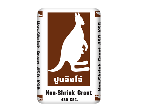 ปูน Non-Shrink grout ตราจิงโจ้