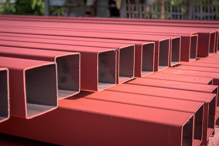 เหล็กกล่องสี่เหลี่ยม